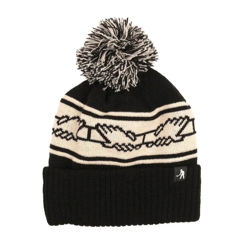 Passport Inter Solid Pom Pom Beanie Product Photo