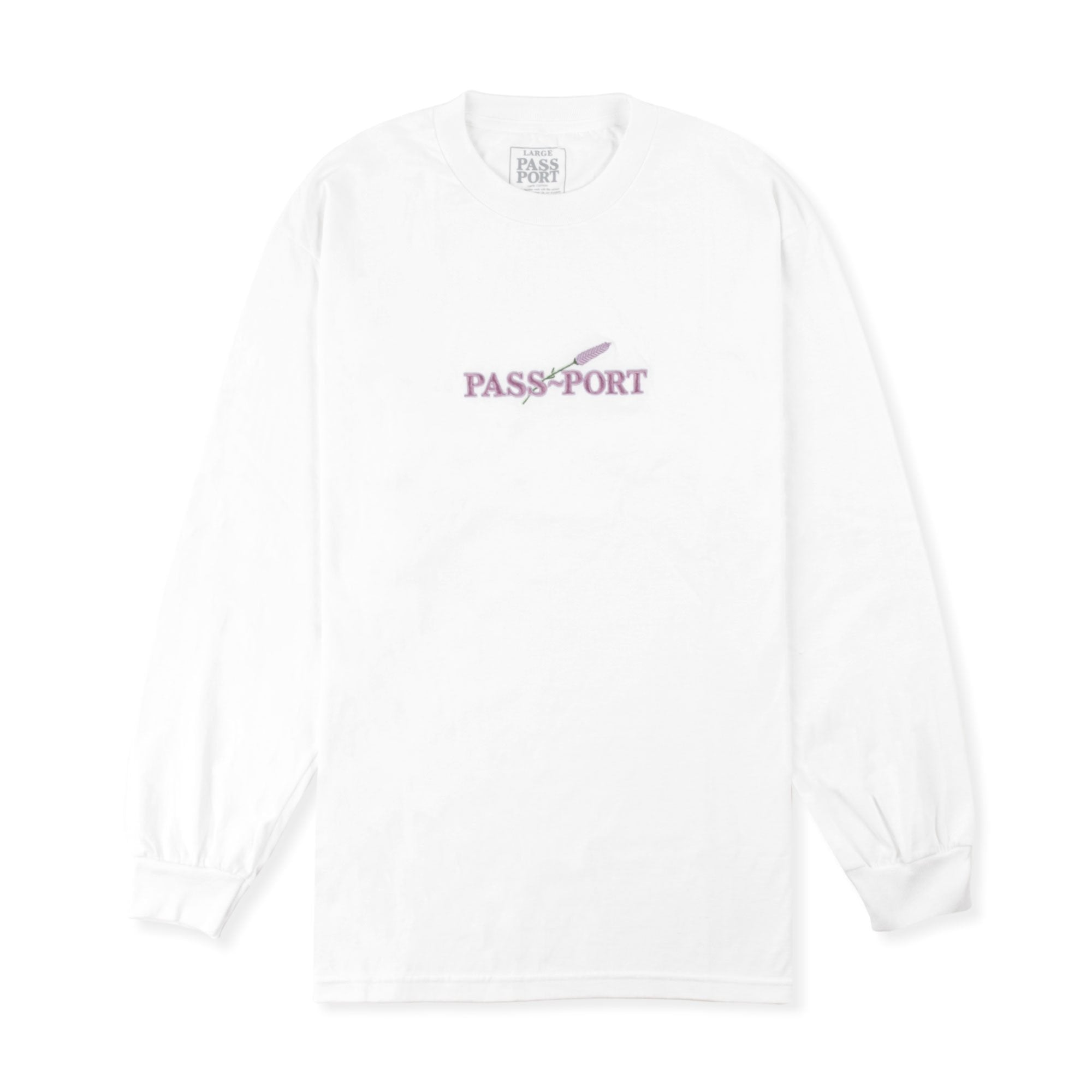 Passport Lavender L/S Tee Product Photo #1