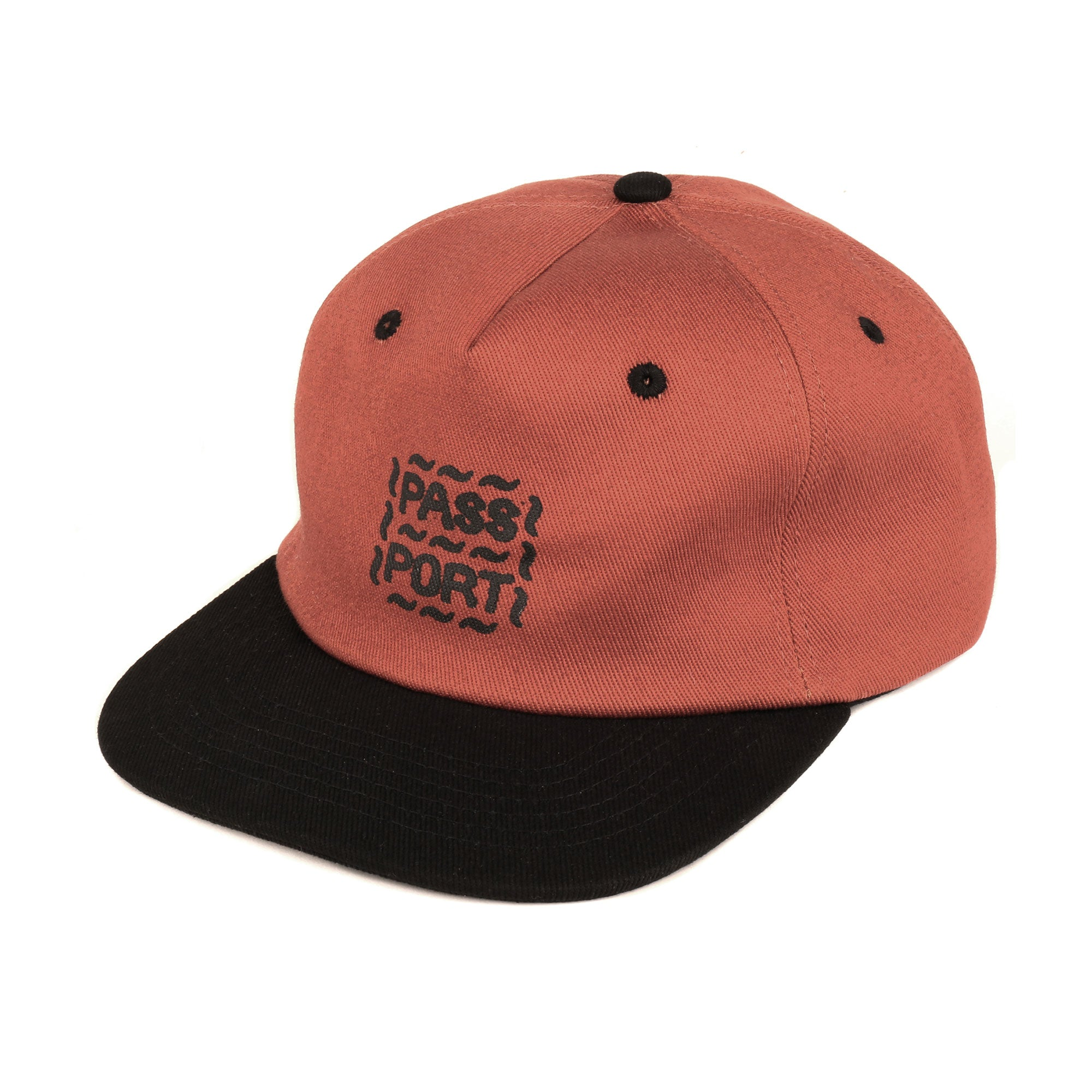 Passport Messy Logo 6 Panel Cap Product Photo #1