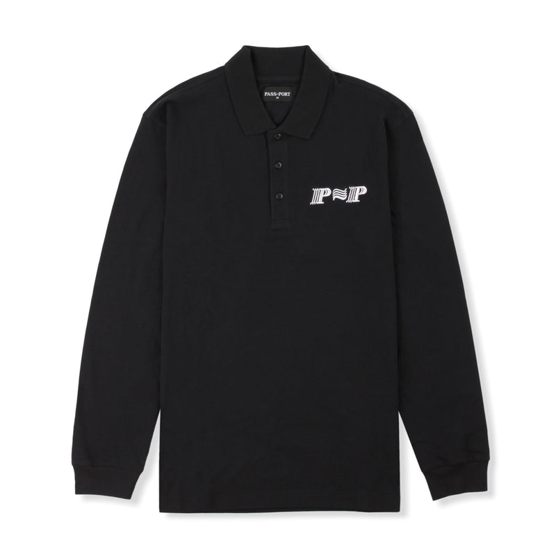 Passport PPP PPP L/S Polo Product Photo