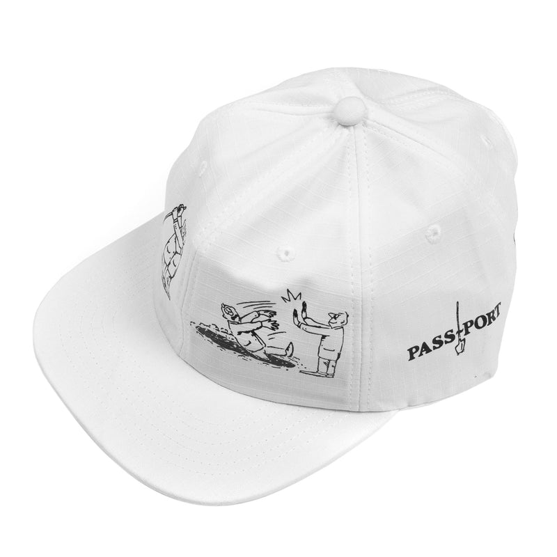 Passport W.C.W.B.F 6 Panel Cap Product Photo