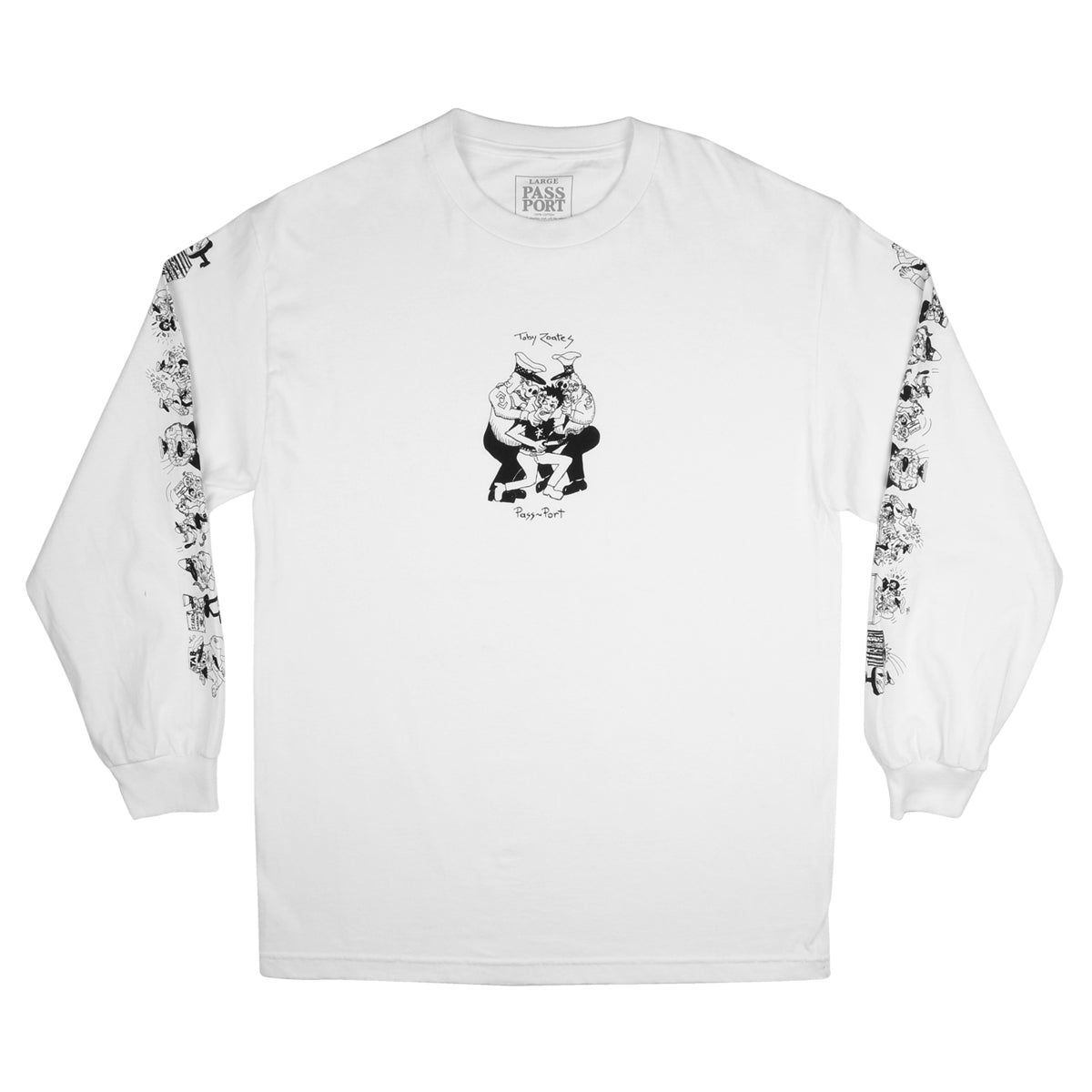 Passport Toby Zoates Coppers Longsleeve Tee Product Photo #1