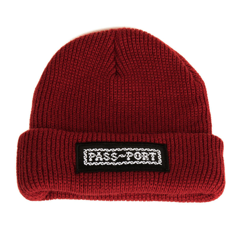 Passport Barbs Beanie Product Photo