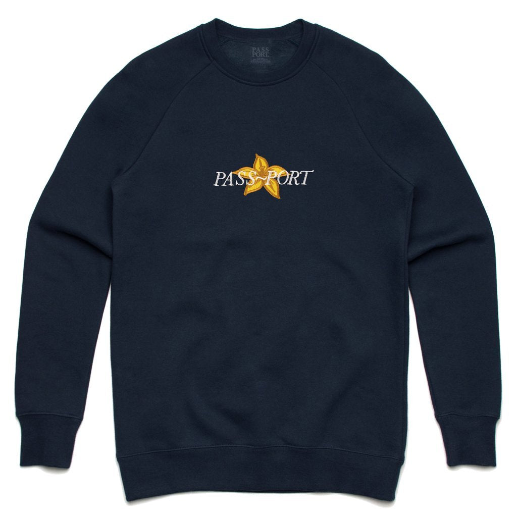 Passport Daffodil Crewneck Product Photo #1