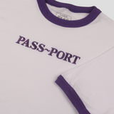 PASSPORT EMBROIDERY OFFICIAL RINGER TEE