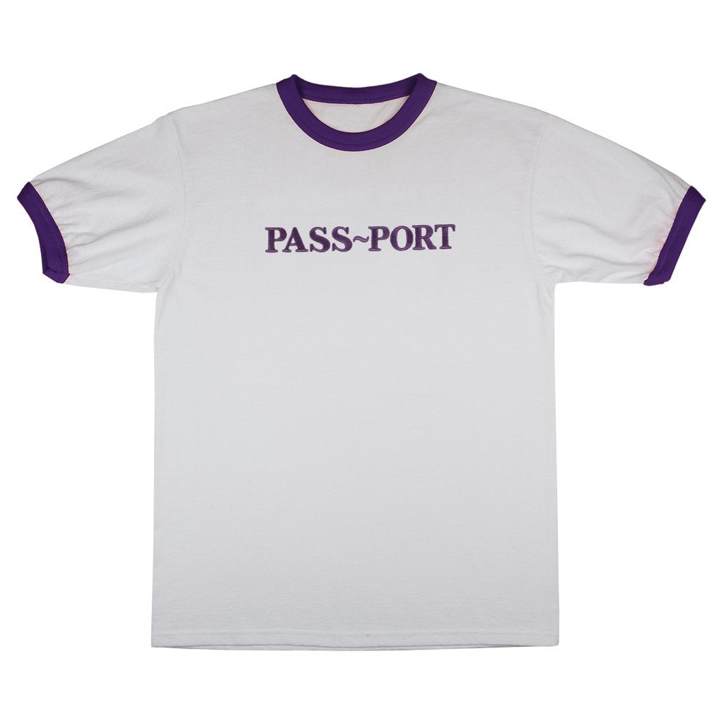Passport Embroidery Official Ringer Tee Product Photo #1