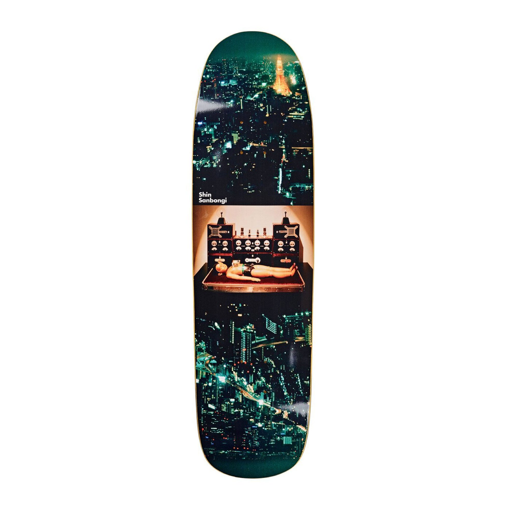 Polar Astro Boy Shaped Deck Product Photo #1