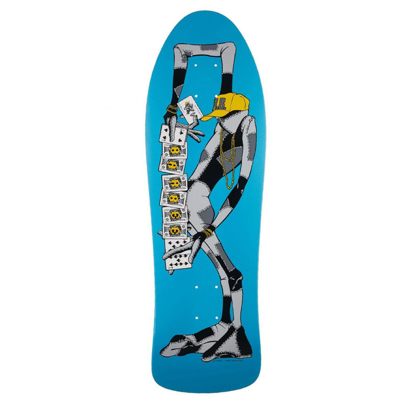 Powell Barbee Ragdoll Reissue Deck - Blue Product Photo