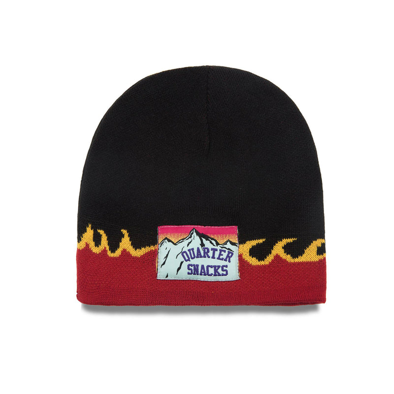Quartersnacks Flame Beanie Product Photo