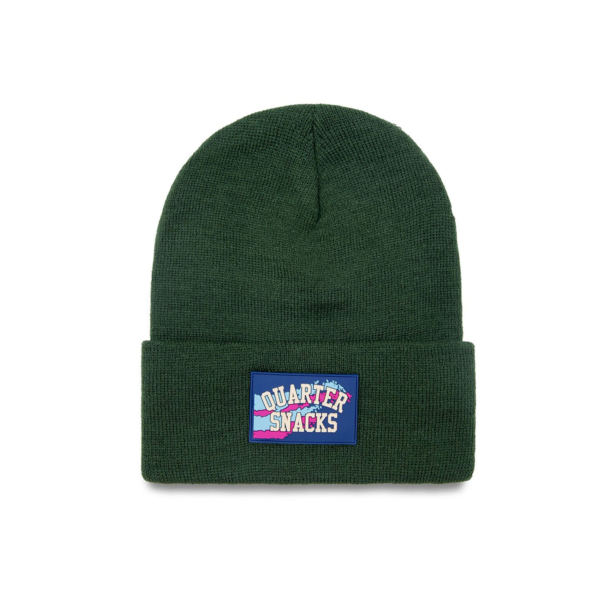 Quartersnacks Rubber Label Beanie Product Photo #1