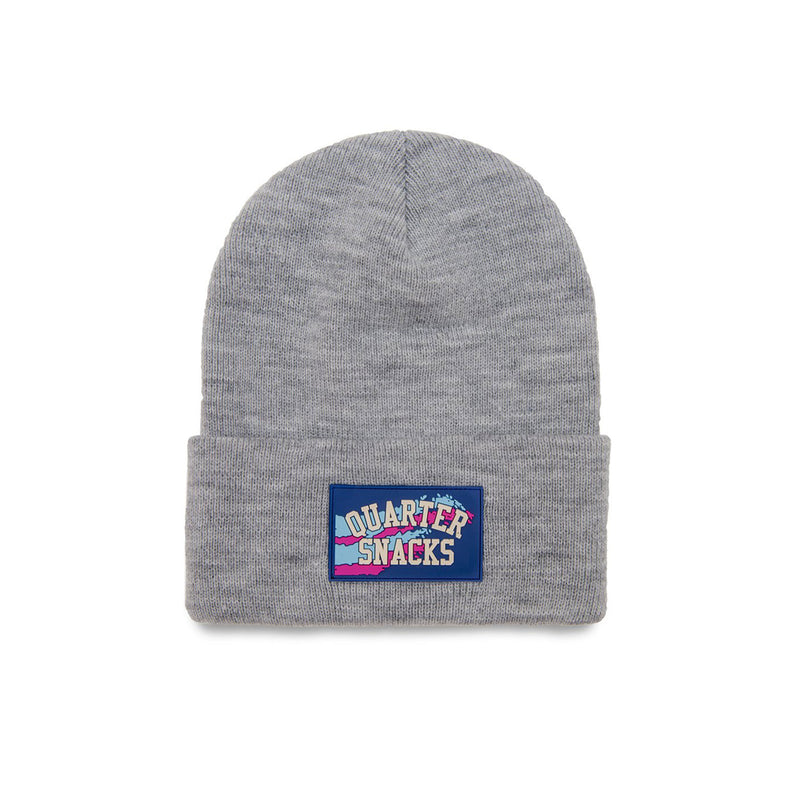 Quartersnacks Rubber Label Beanie Product Photo