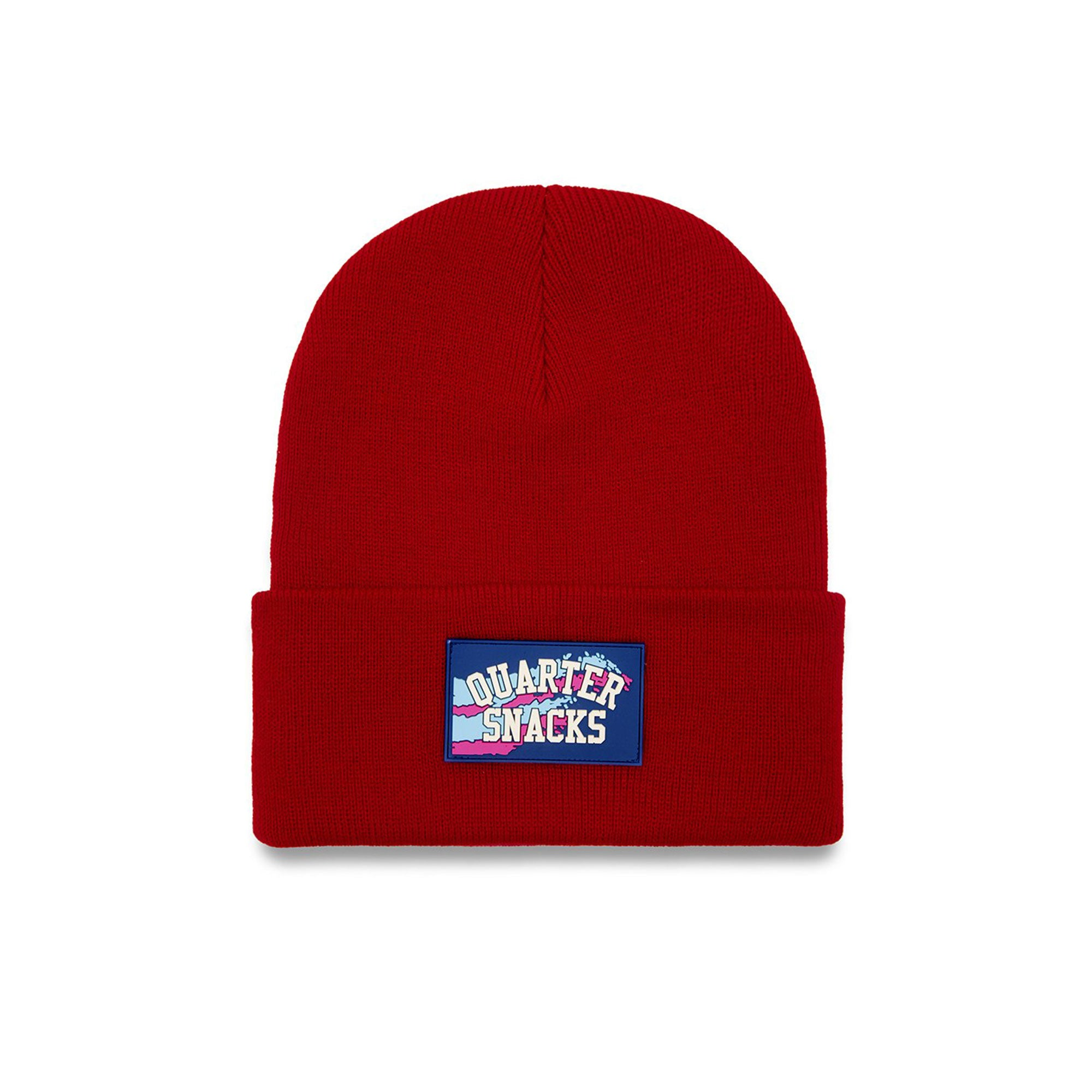 Quartersnacks Rubber Label Beanie Product Photo #2