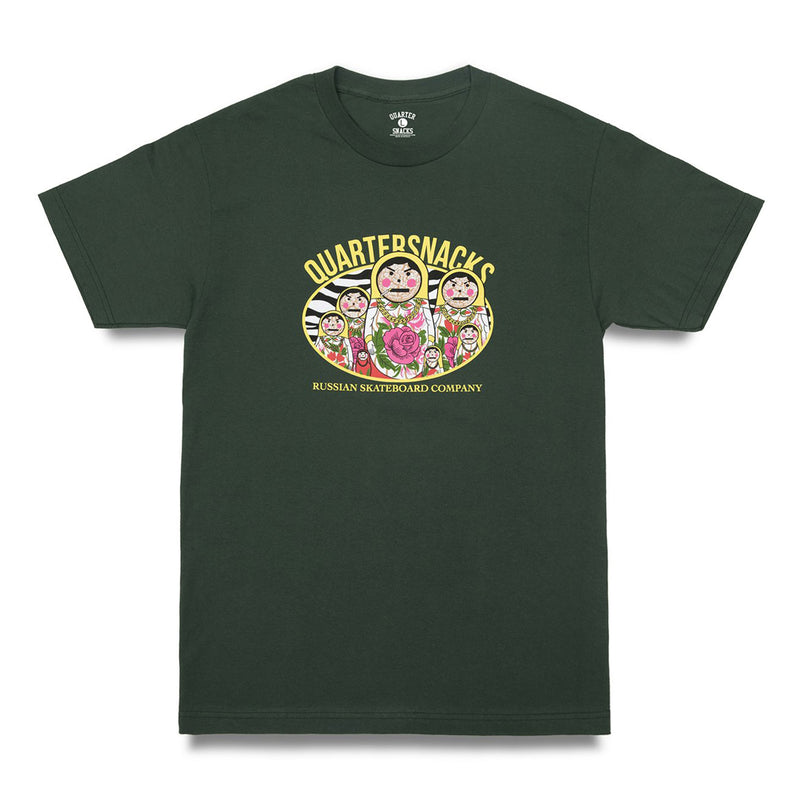 Quartersnacks Russian Doll Tee Product Photo