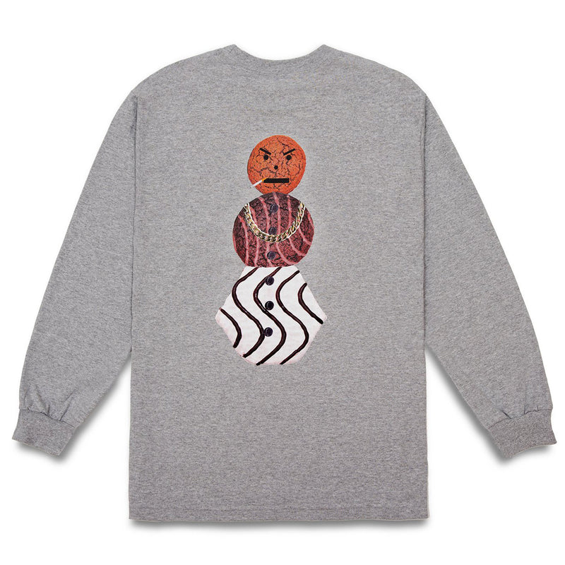 Quartersnacks Classic Snackman L/S Tee Product Photo
