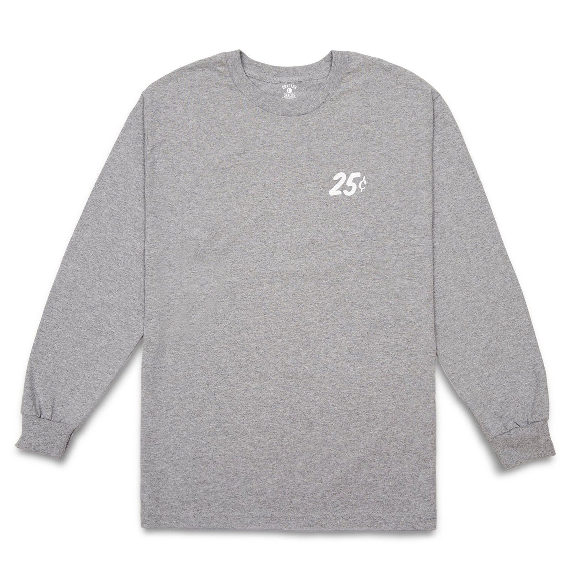 Quartersnacks Classic Snackman Longsleeve Tee Product Photo #2