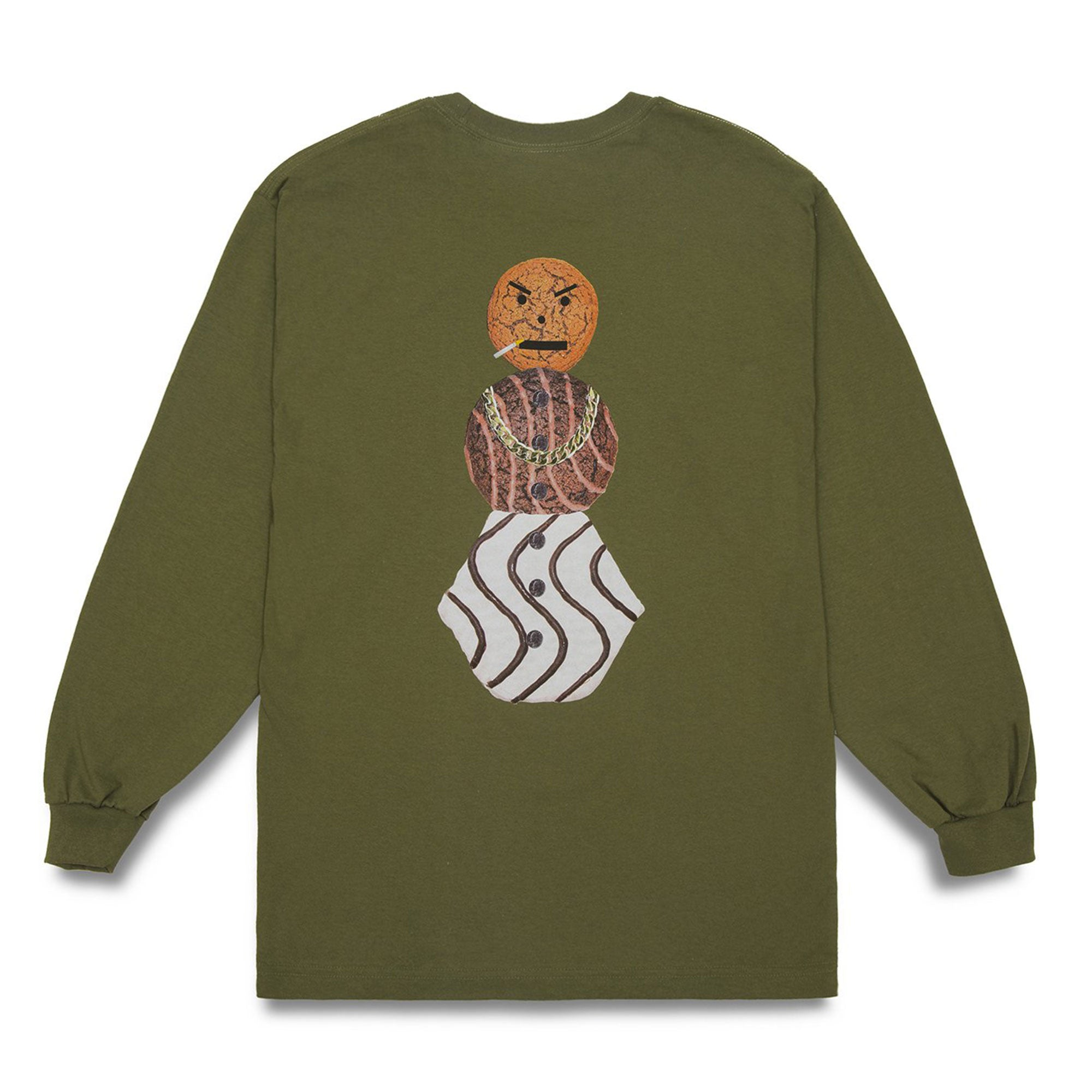Quartersnacks Classic Snackman Longsleeve Tee Product Photo #1