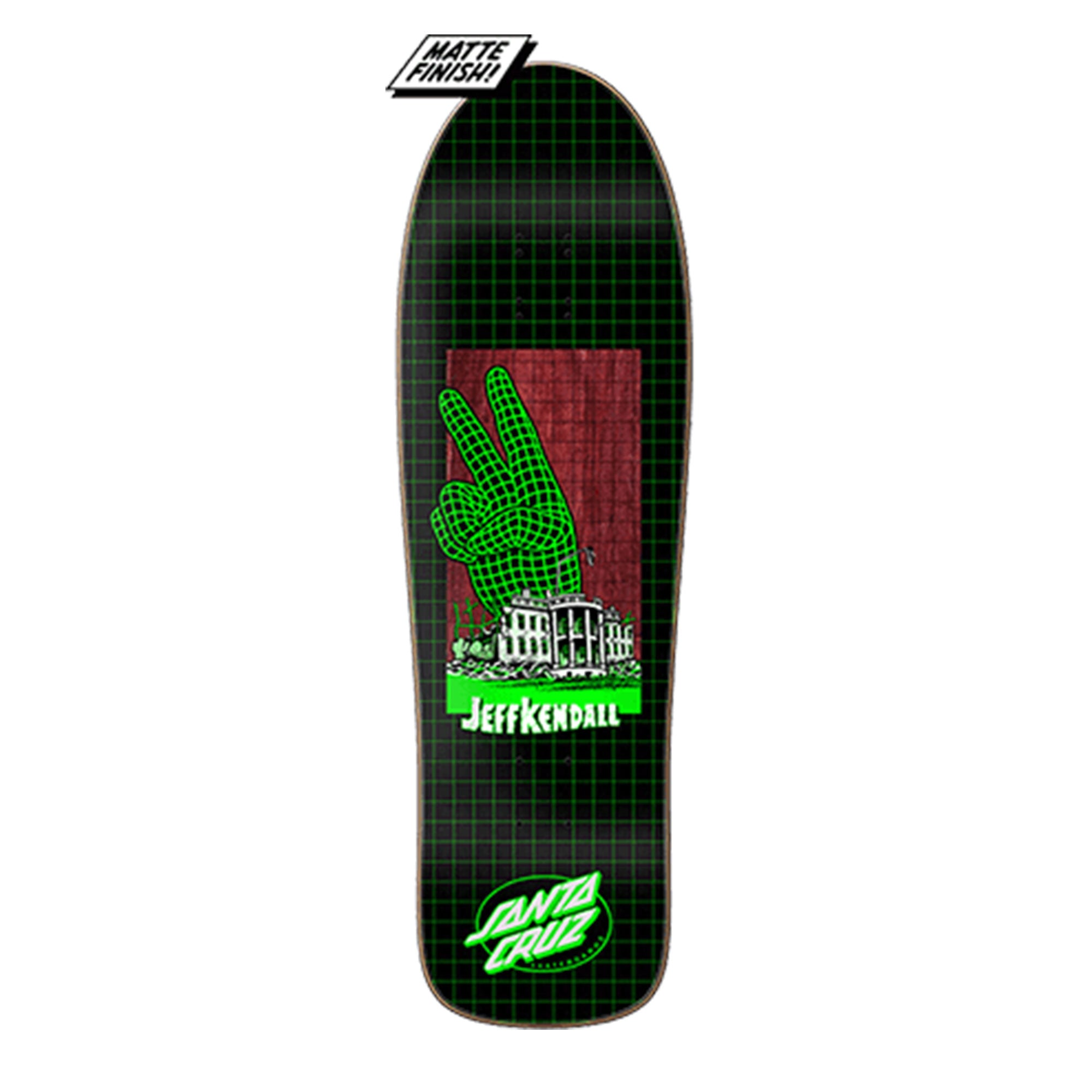 Santa Cruz Kendall Atomic Peace Preissue Deck Product Photo #1