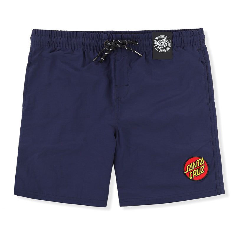 Santa Cruz Classic Dot Beach Shorts (Youth) Product Photo