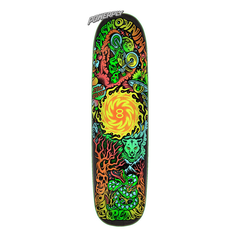 Santa Cruz Winkowski Dope Planet Powerply Deck Product Photo