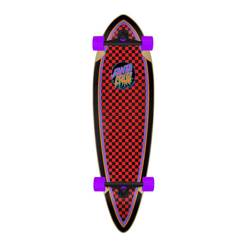 Santa Cruz Rad Dot Pintail Cruzer Complete Product Photo