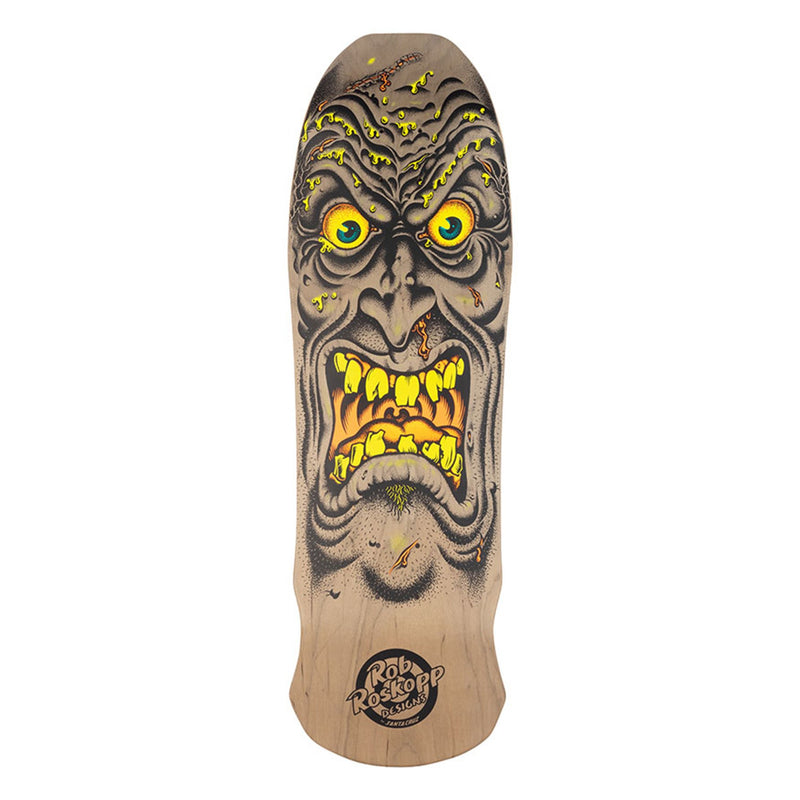 Santa Cruz Roskopp Face Re-issue Deck - Brown Product Photo