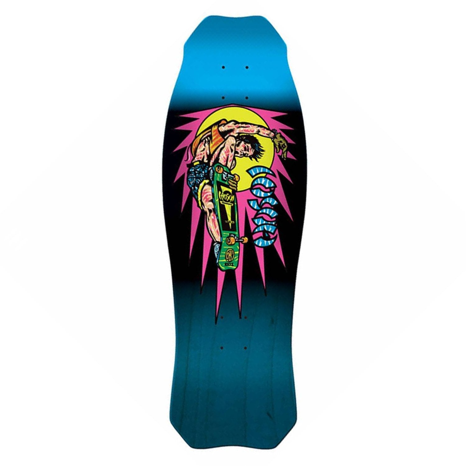 Santa Cruz Hosoi Rocket Air Mini Reissue Deck Product Photo #1