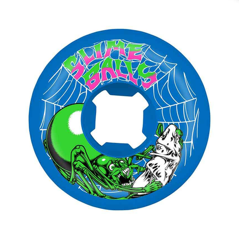 Santa Cruz Speed Balls Slime Web Wheels Product Photo