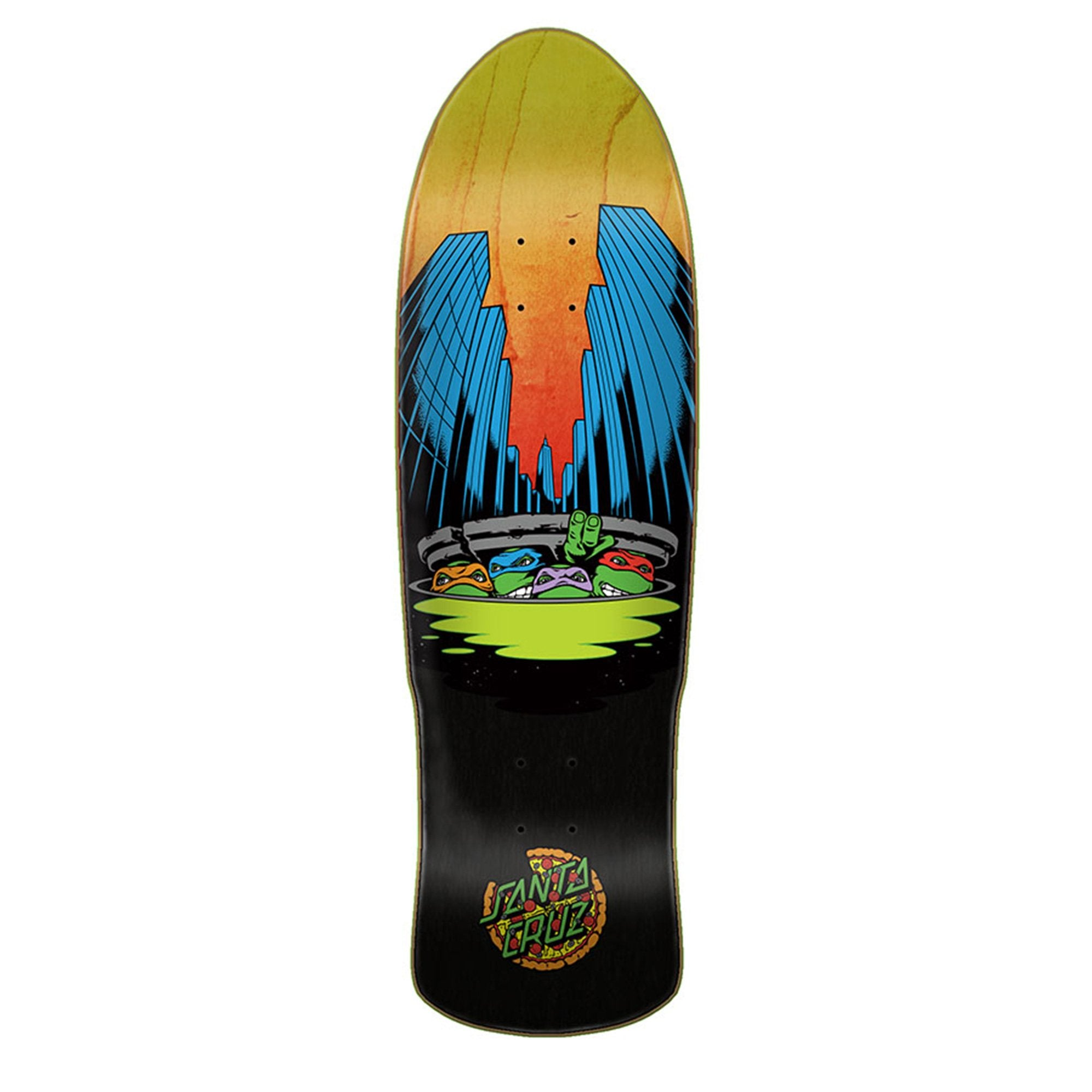 SANTA CRUZ TMNT PRE-ISSUE DECK - 9.42