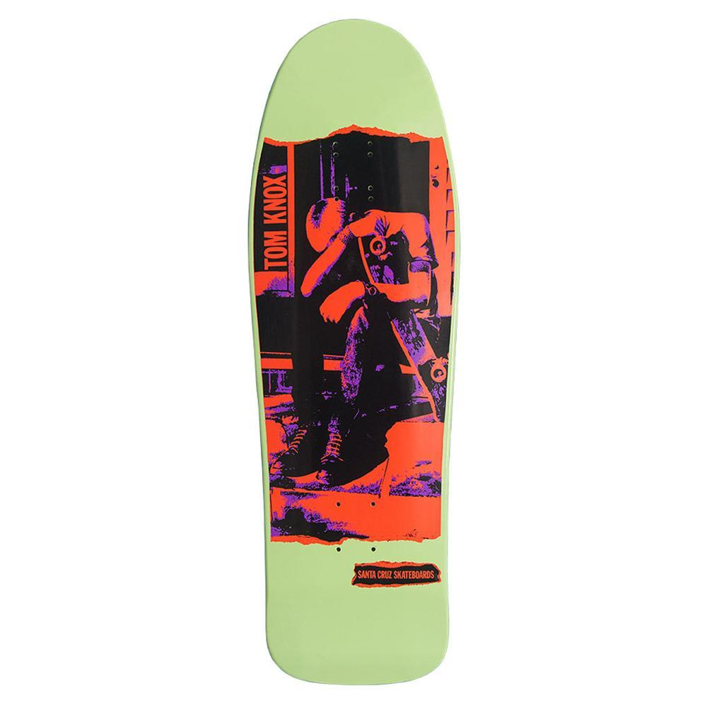 Santa Cruz Knox Neon Reissue Deck Product Photo #1