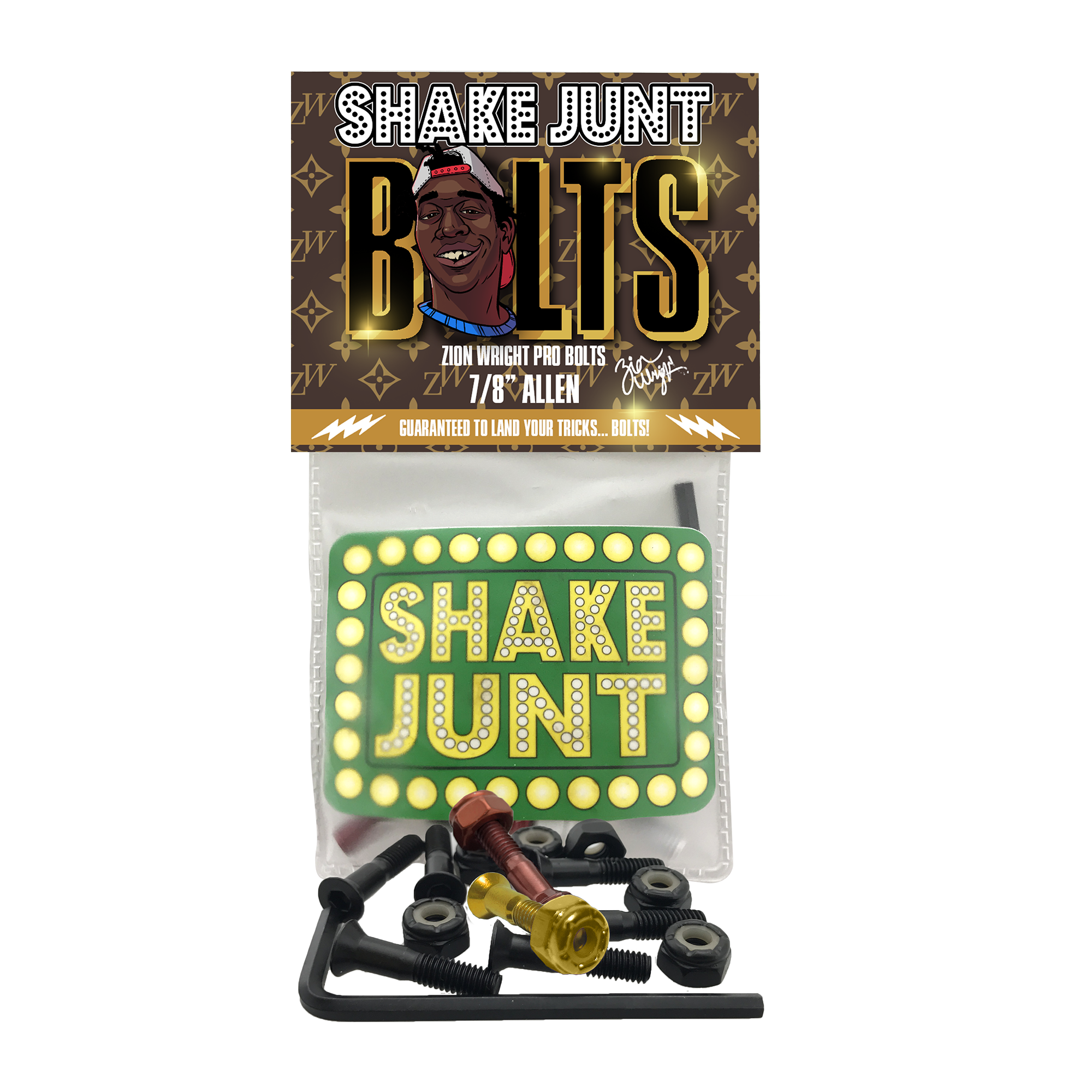 Shake Junt Bolts Product Photo #1