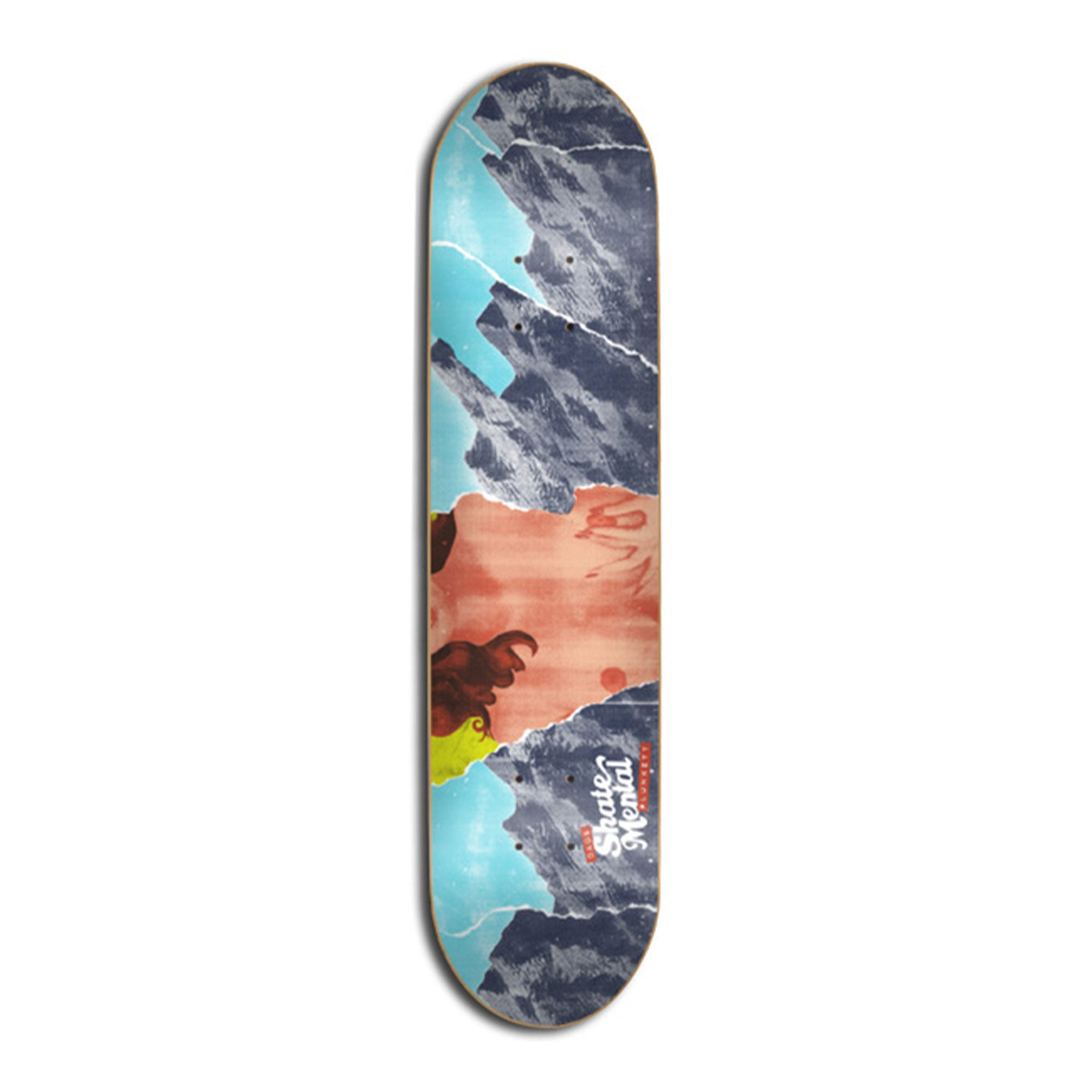 Skate Mental Dads Plunkett Deck Product Photo #1