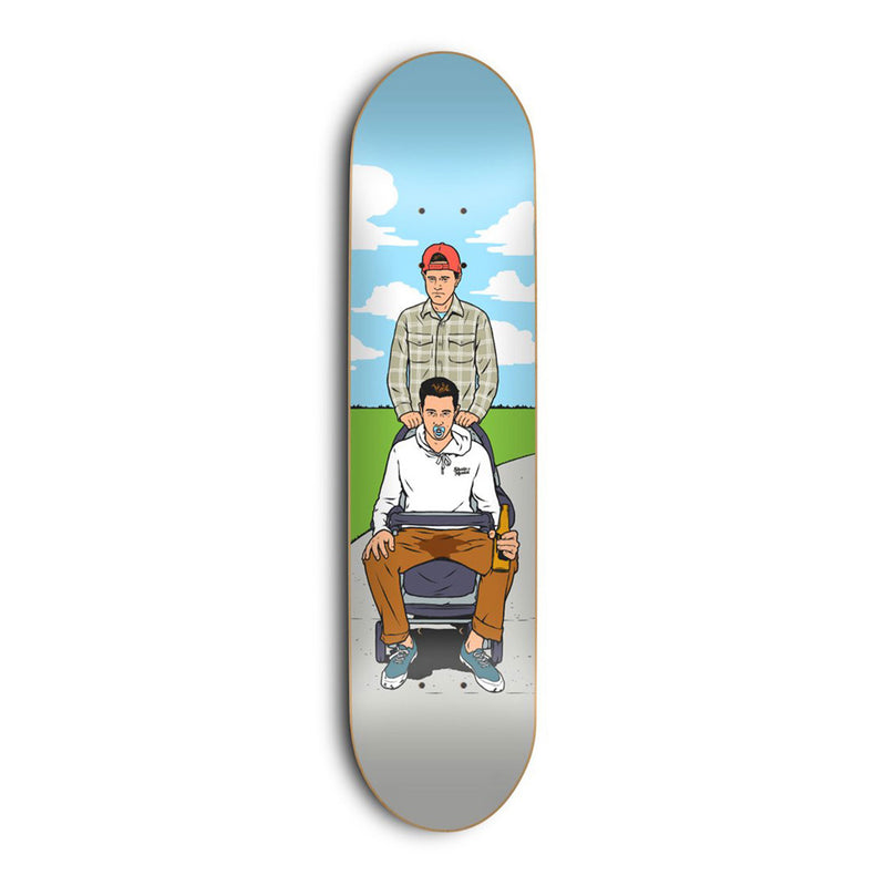 Skate Mental Stroller Anderson Deck Product Photo