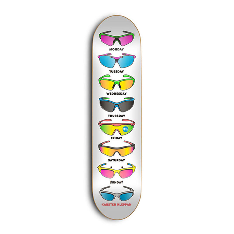Skate Mental Sunglasses Kleppan Deck Product Photo