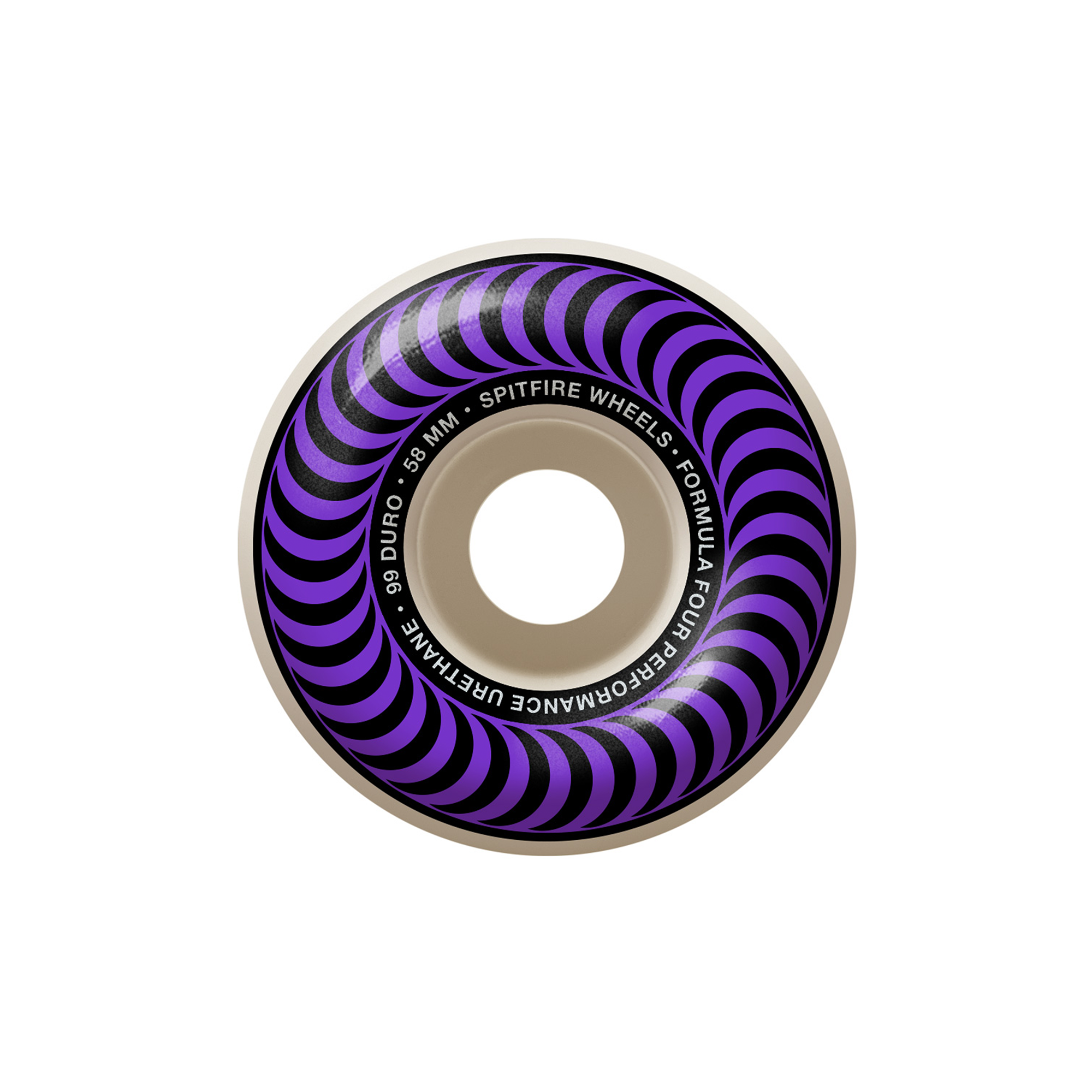 Spitfire Formula Four Classic Swirl 99 Wheel Product Photo #1