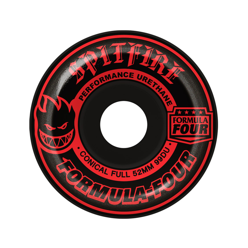 Spitfire Formula Four 99 Blkout Red Wheels Product Photo