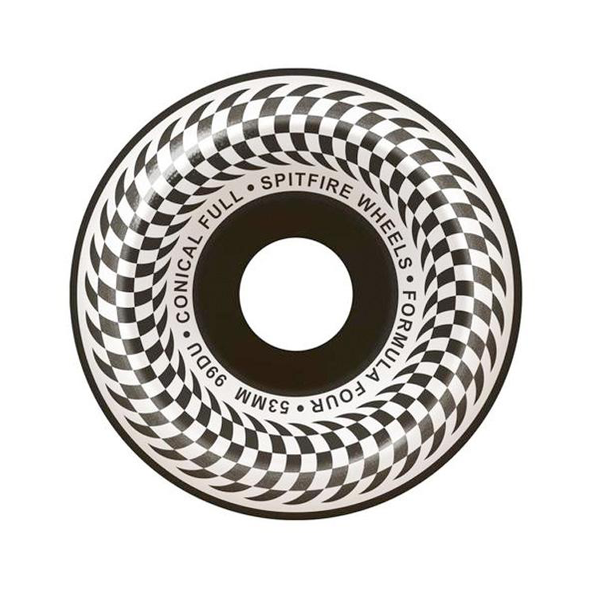 Spitfire Formula Four Checker 99 Wheels Product Photo #1