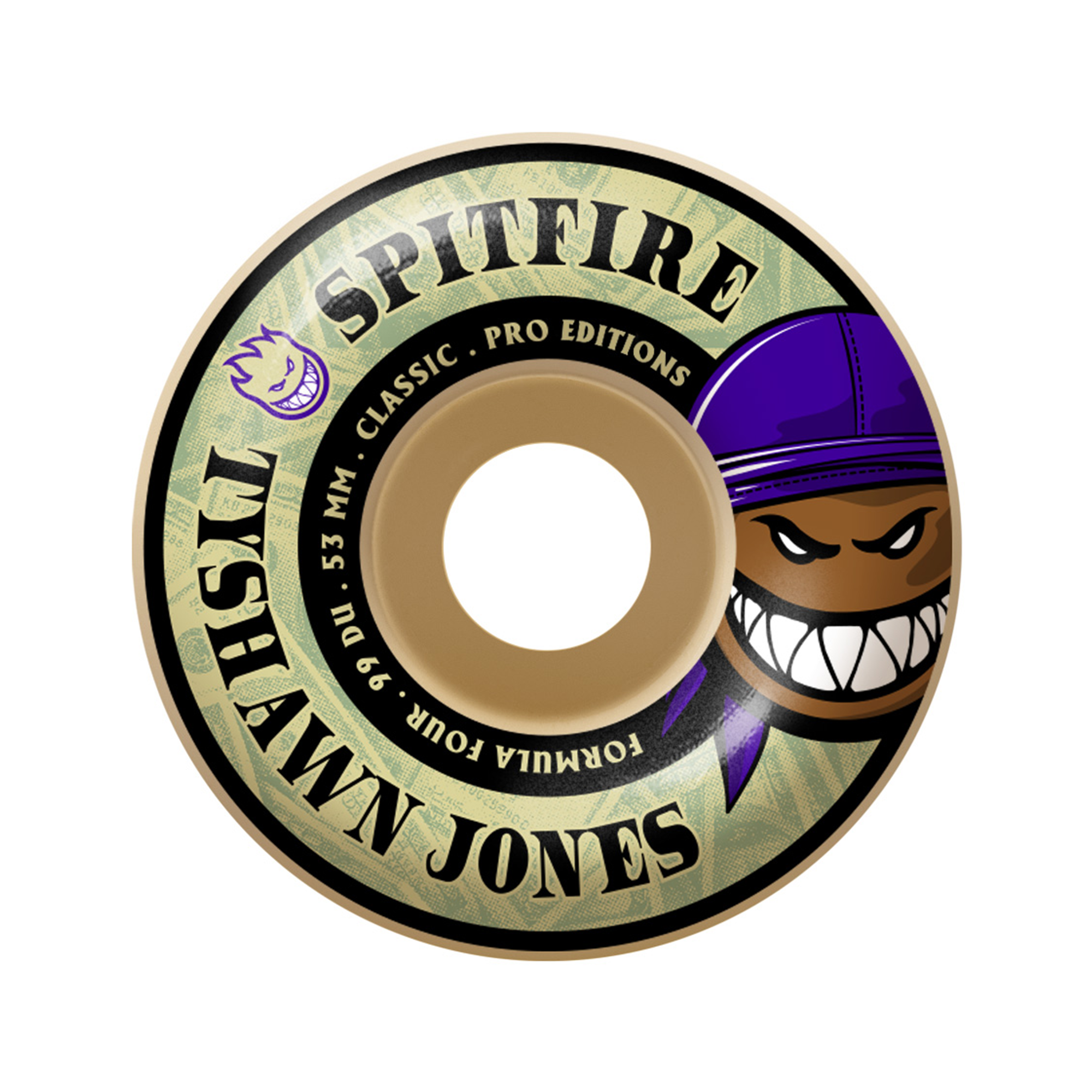 SPITFIRE FORMULA FOUR 99 TYSHAWN WHEELS - 53MM