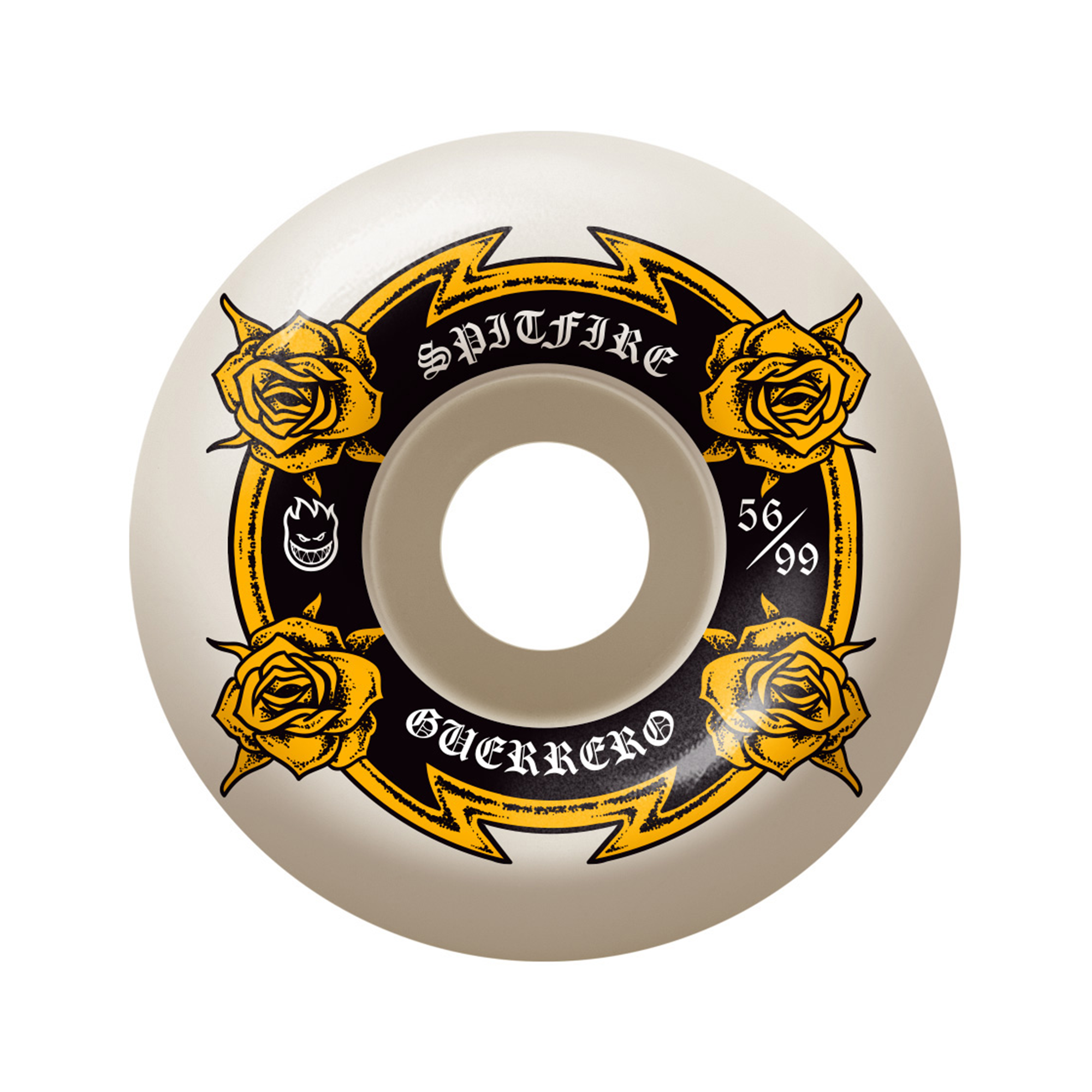 Spitfire Guerrero Wheels - 56mm Product Photo #1