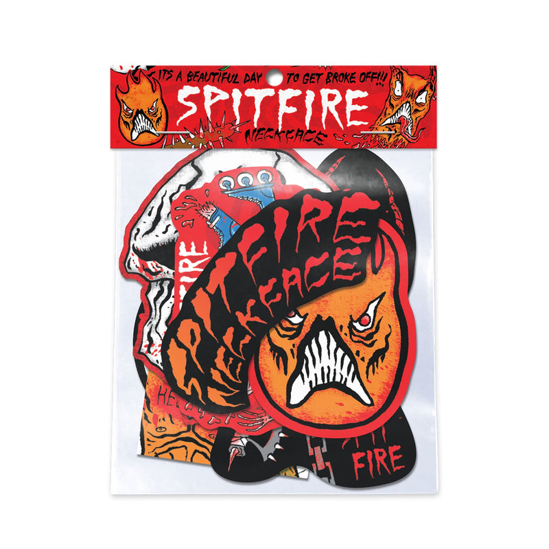 Spitfire Neckface Sticker Pack Product Photo