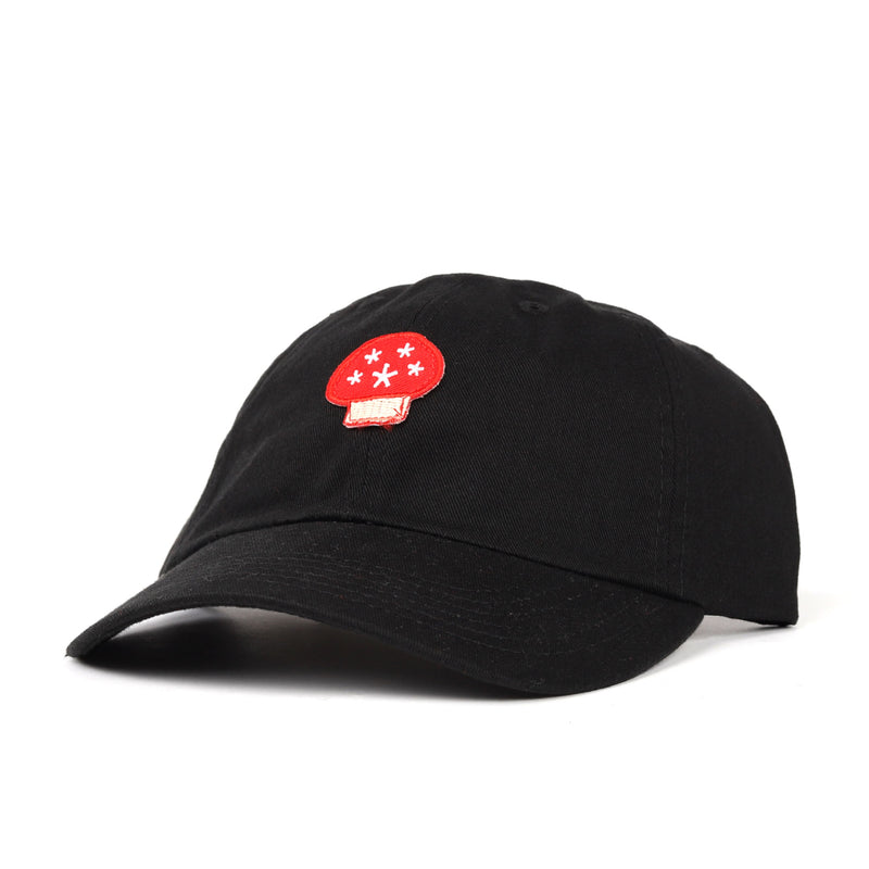 Stingwater Mushroom Embroidered Patch Cap Product Photo