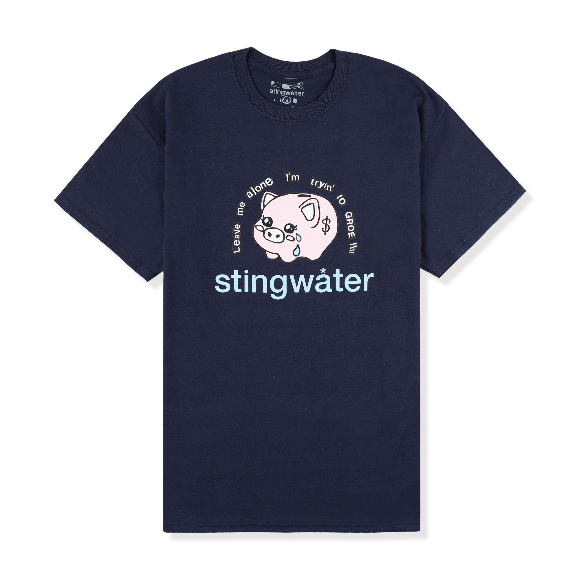 Stingwater Leave Me Alone Im Trying To Groe Tee Product Photo #1