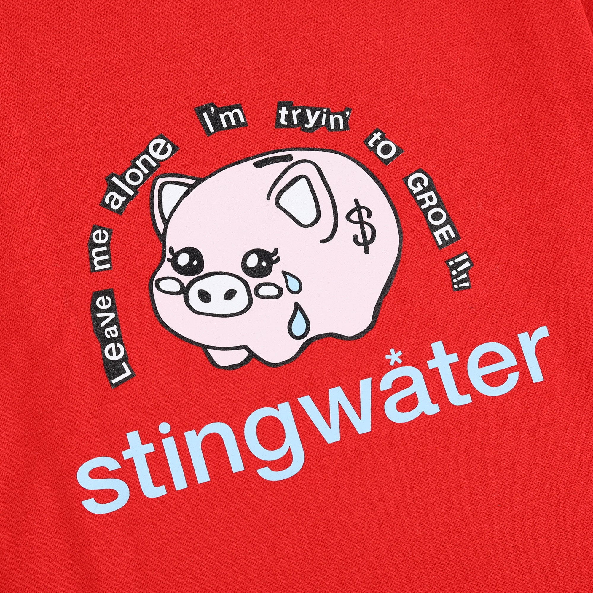 Stingwater Leave Me Alone Im Trying To Groe Tee Product Photo #2
