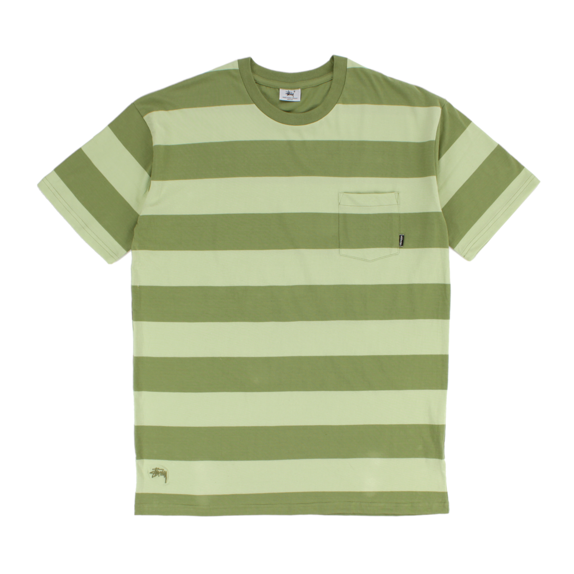Stussy Fat Stripe Tee Product Photo #1