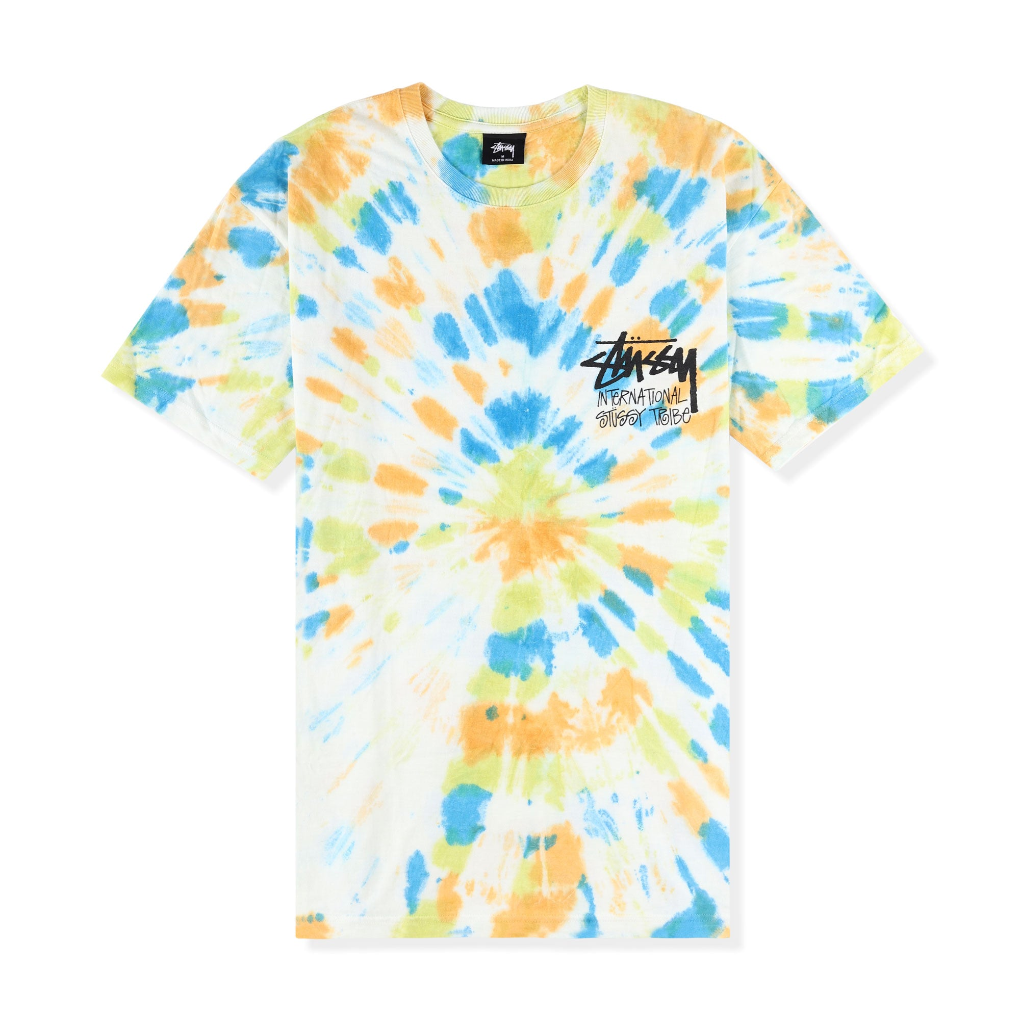 Stussy Tribe Tie Dye Tee Product Photo #1