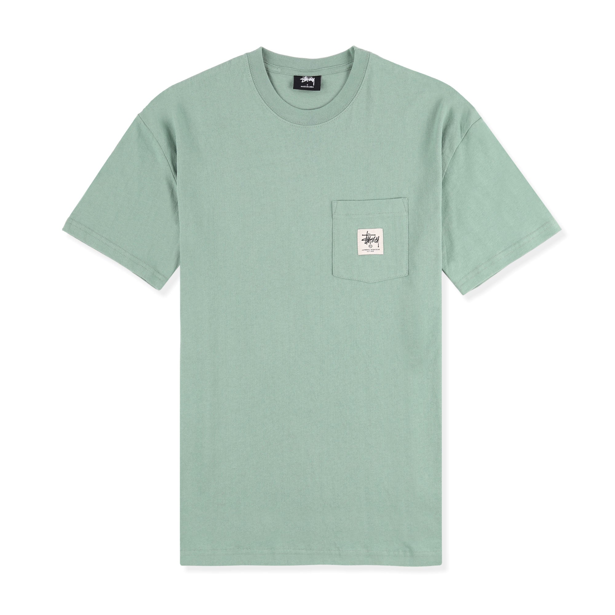 Stussy Work Label Pocket Tee Product Photo #1