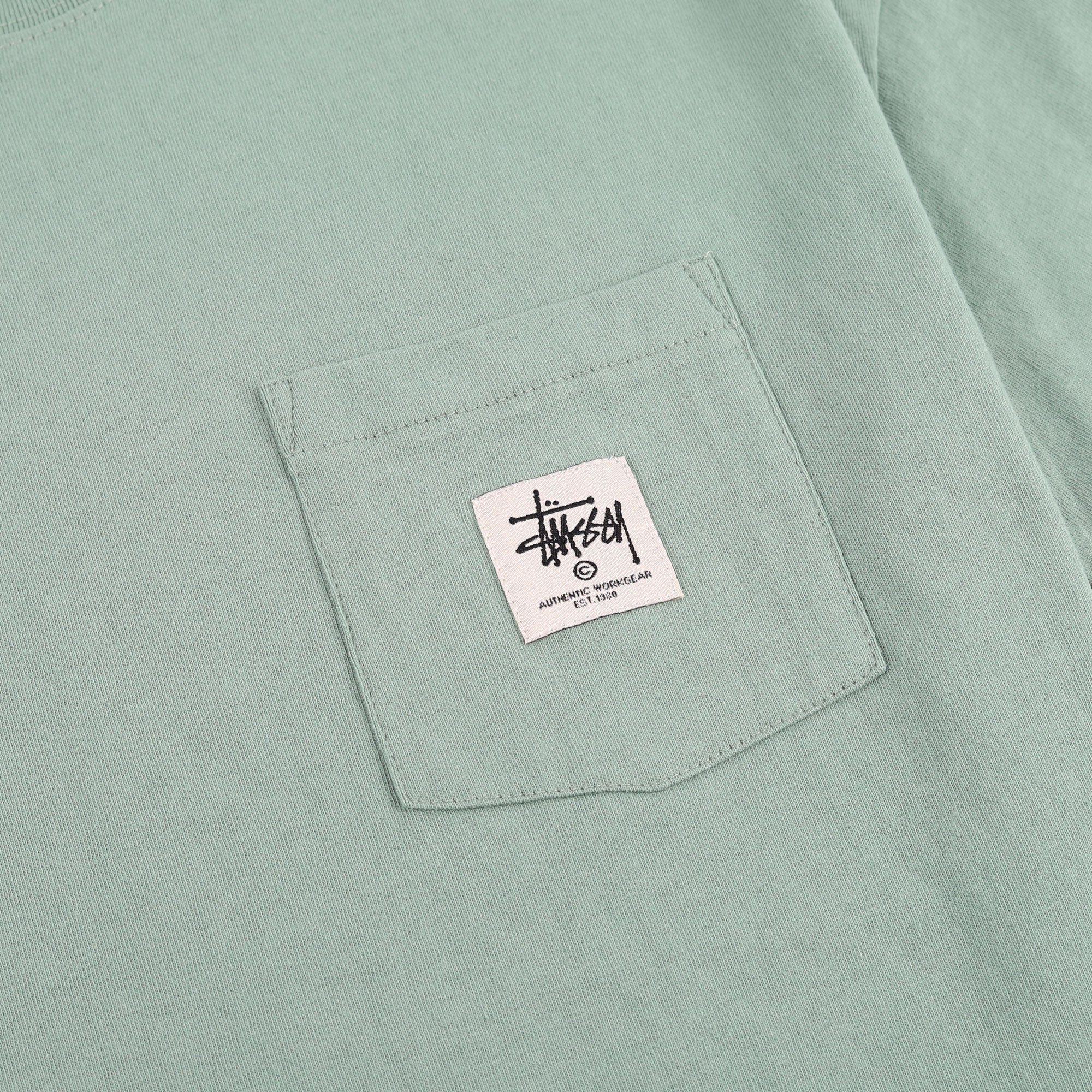 Stussy Work Label Pocket Tee Product Photo #2