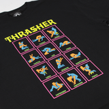 THRASHER BLACKLIGHT TEE