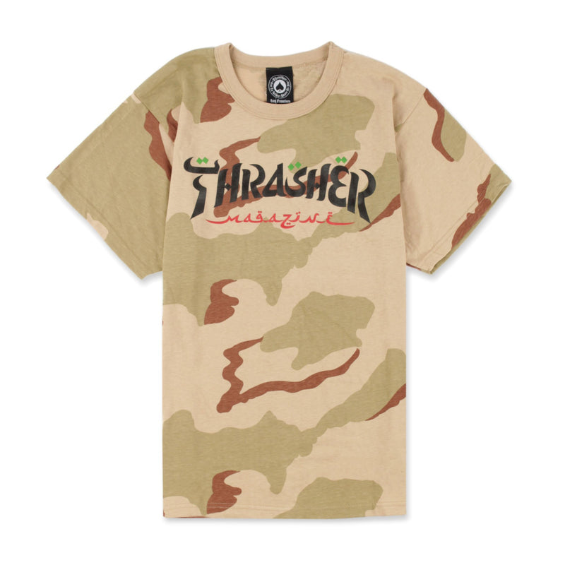 Thrasher Calligraphy Tee Product Photo