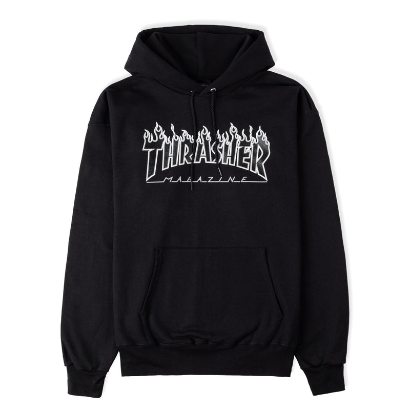 Thrasher Flame Logo Hood Product Photo