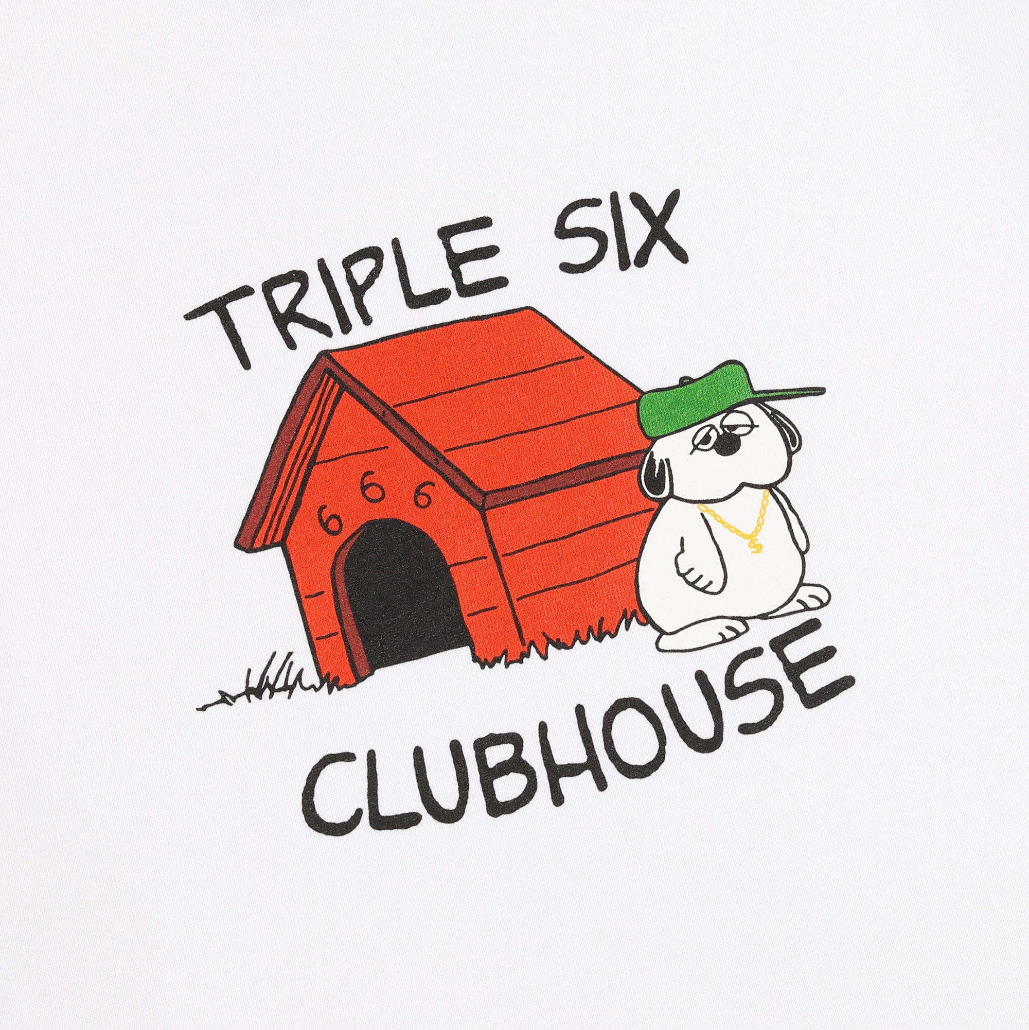 Triple 6 Clubhouse Doghouse Tee Product Photo #2